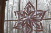 Super-cool 6 fácil acentuado copo de nieve