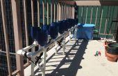 Jardinería urbana - hidroponía balcón
