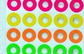 Identificación de conectores de audio con etiquetas color