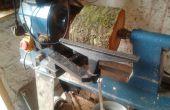 Reconstrucción de resto de herramienta de torno de madera / reparación