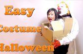 Un monstruo que te lleva. Los mejores disfraces DIY último minuto #Halloween