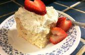 * Tres de CHEATER Leches pastel: perfecto para su novia