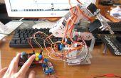 Mi noveno proyecto: Brazo Robot con Joystick escudo