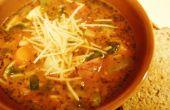 Cómo hacer sopa de Pistou