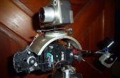 Montaje de cámara Pan/Tilt controlado de radio