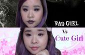 Maquillaje de chica mala
