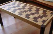 Cómo construir una mesa de café de pared Cafe ilusión