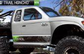 Axial SCX10 Honcho 4-link trasero aluminio actualizar