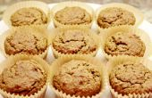 Frutas y vegetales Muffins (sin gluten)
