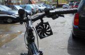 Cargador del teléfono celular (turbina de viento con estructura en batería) la bicicleta