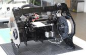 Módulo de pórtico XY para impresora Lum