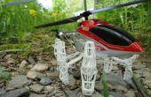 Actualización de patines de aterrizaje del helicóptero de Control remoto del S032G de 3.5 canales