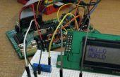 Ejecuta un HD44780 Mostrar apagado el ATmega en un Gertboard