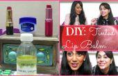 DIY: Teñida de bálsamo para los labios
