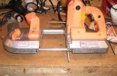 Cómo reparar la unidad de las ruedas con una sierra de banda portátil eléctrica Chicago