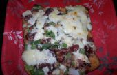 Pan Pizza de Rajma