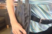 Impermeable Extra Durable bolsa de compras hecha hacia fuera vieja bicicleta tubos interiores