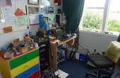 Mi espacio de trabajo de electrónica