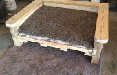 Convirtiendo un viejo palet en una cama de perro