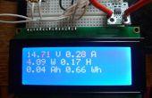 DIY amperios / voltios vatio-hora - Arduino