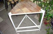 Mesa taburete escalera (mesa-banqueta-escalera)