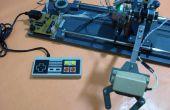 Brazo robótico controlado por el mando NES