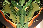 Hacer un dragón de cartón!