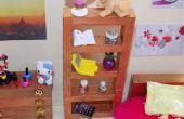 LPS DIY chica miniatura casa de muñecas dormitorio