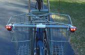 Bicicletas luces direccionales - Simple, bajo costo, como el Solar