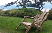 Cómo hacer una silla de césped de madera