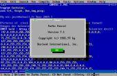 DESCARGAR TURBO PASCAL 7.1 y ejecutar, en WINDOWS 7 con DOSBOX