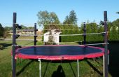 Trampoline Wrestling Ring