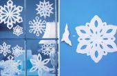 Cómo hacer un copo de nieve con papel