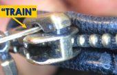 Arreglar cremallera rota. Simple truco fácil!