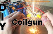 DIY Coilgun fácil | Lanzador de proyectil electrónico