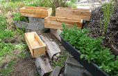 Cajas de flores / macetas / jardineras - edificio Plan