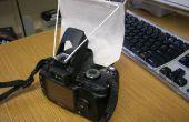 Difusor de flash emergente incorporado DIY (pantalla suave)