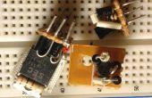 Utiliza serie, circuito paralelo de batería carga