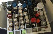 Organizador del cajón: Ajuste personalizado a su cajón y contenido