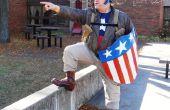 La segunda guerra mundial Capitán América Bucky rescate equipo