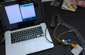 Sensor de respiración DIY con Arduino (Sensor estiramiento punto conductor)