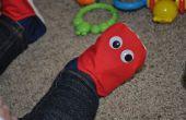 Pac-Man de rojo enemigo (fantasma) temática botines
