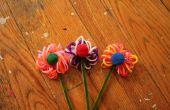 Marcadores Fuzzy flor