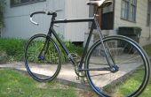 Bicicleta de fibra de carbono