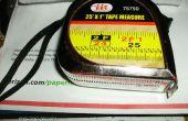 ACTUALIZADO: cinta métrica de reparación - reparación añadida para Lufkin Pee Wee (paso 4 adelante)