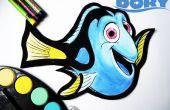 Velocidad de pintura Dory en espuma