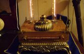 Luz de científico loco Steampunk/victoriana