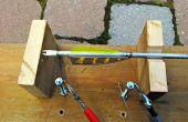 Corte tiras de flecha natural la manera rápida y apestosa