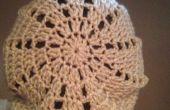 Triángulo slouchy Beanie Crochet patrón