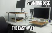 Escritorio de pie, la manera fácil